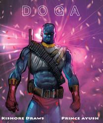 Doga pinup by KishoreDraws
