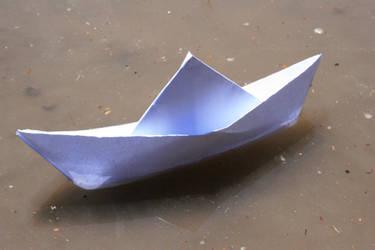 paper boat by SStocker