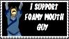I Support Foamy Stamp by wizardwonders6
