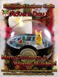 Day 6 - Pokemon Battle Scene - Advent 2018 by enchanted-enigma