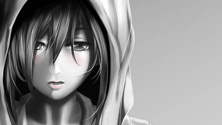 Mikasa wallpaper by brian05710