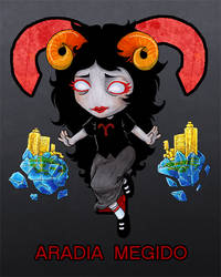 Homestuck: Aradia Megido by colorchaos