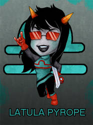 Homestuck: Latula Pyrope by colorchaos