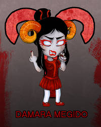 Homestuck: Damara Megido by colorchaos