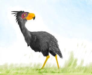 Terror bird by Mikartturi