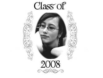 Graduation Announcement by Chompie