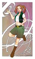 young Lara by Adora-Kim