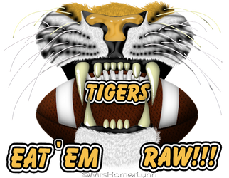 Tigers Eat'em Raw 2 by MrsHomer