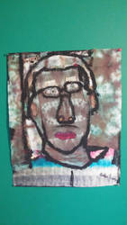 Tie-Dye self portrait by Empoleonisnumberone