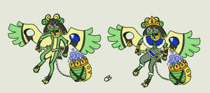 Thuriblim 4- Fool's Gold (Draw To Adopt!) by Lucheek