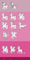 Pony Types Through the Ages by Lucheek