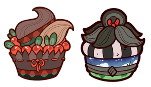 Griffia Cupcakes Batch 1 by Lucheek