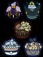 Griffia Cupcakes Batch 2 by Lucheek