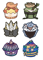 Griffia Cupcakes Batch 3 by Lucheek