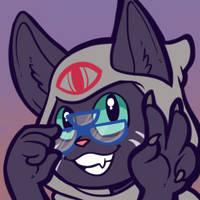 Commission: New Vigil Cat by Lucheek
