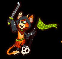 Commission: Sword Bean by Lucheek