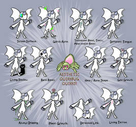 Aesthetic Quirkbug Quirks! by Lucheek