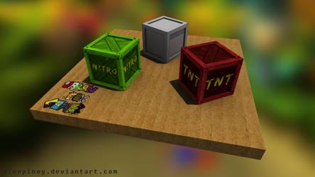 Crash Bandicoot HD Crates (tutorial) by UrbanFoxGamer