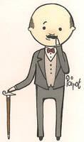 Hercule Poirot by RedonkulousEmmy