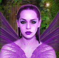 Purple Fairy by WeReallyDig