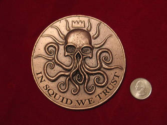 The Squidder Coin - front by JamieDMac