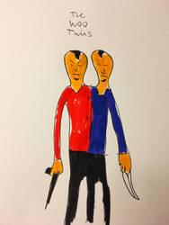 The Woo Twins by BurtonElliotDelToro