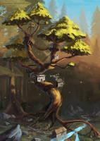 tree house by Futurodox