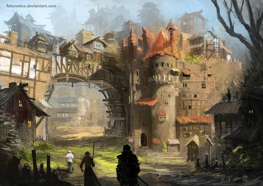 concept environment by Futurodox