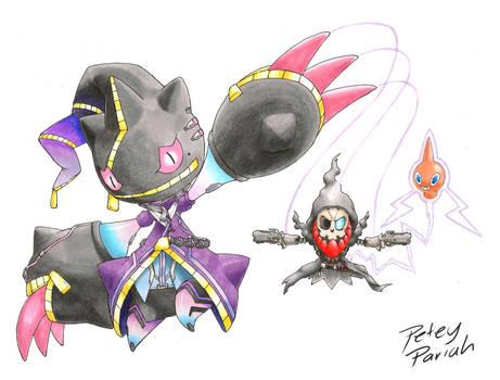Halloweenoverwatch explore halloweenoverwatch on deviantart - Branette pokemon y ...