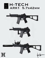 H-Tech ARK1 prototype - presentation sheet by JanTuts