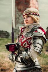 Saskia the Dragonslayer - The Witcher by Shappi