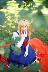 Tohru - Miss Kobayashi Dragon Maid by Shappi