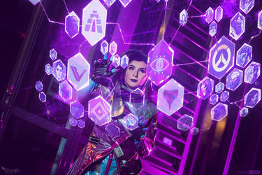 Sombra - Overwatch by Shappi