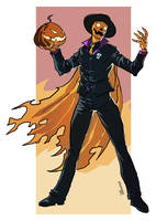 Commish: Mister Halloween by BragaDoom