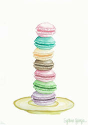 Macarons by Sydonz