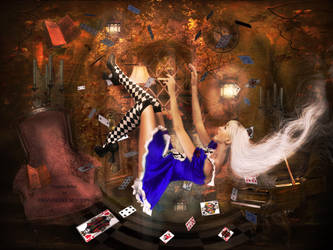 Le monde merveilleux d'Alice. by noune83