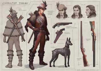 Spanish hunter by Elle-Shengxuan-Shi