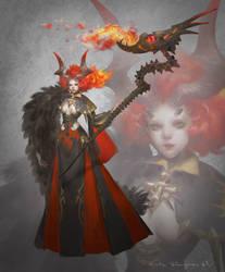 Devil Summoner by Elle-Shengxuan-Shi