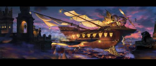 Airship-Eurynome by Elle-Shengxuan-Shi