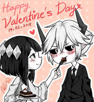 The Gray Garden: Valentine by CottonCatRie