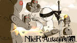 Cry streams: Nier Automata by CottonCatRie