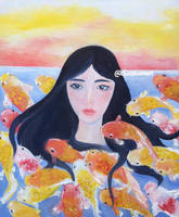 Koi Fish by ceedeng