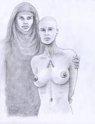 Adulteress bw by jogbol
