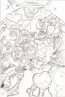 Gravity Falls - Pencils - RUSH JOB by MisterLegendary