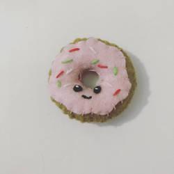 Felt Doughnut by Phantomheero