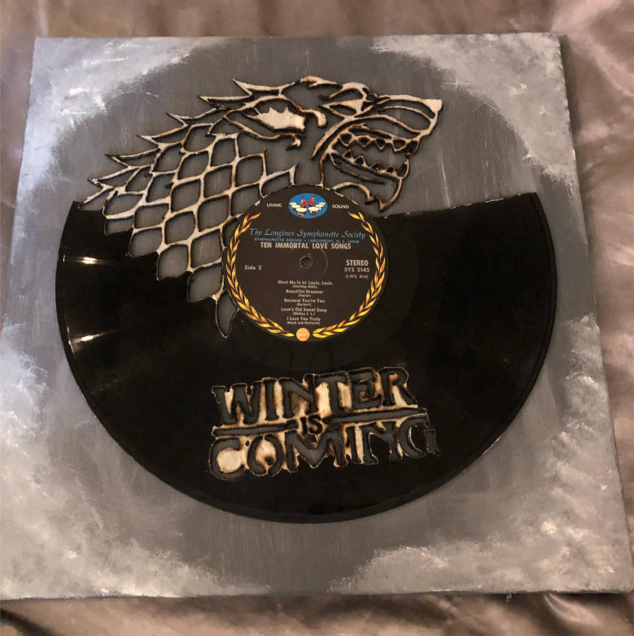 Winterfell Game of Thrones Record by Phantomheero