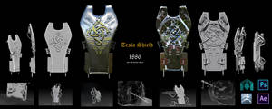 Tesla Shield - Order 1886 Competition. by Oblixx