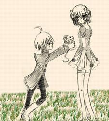 OC :Little Dora: Sketch by Moetaku-chan