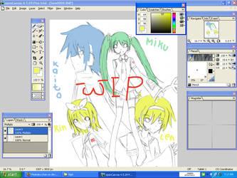 WIP .:Vocaloid:. by Moetaku-chan