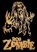 Rob Zombie Wood Cut Out by thrashantics